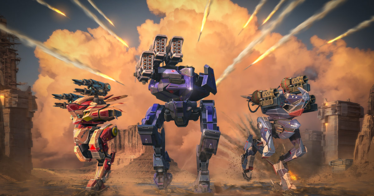 Состоялся бета-тест ремастера War Robots!