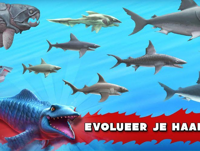 Speel Hungry Shark Evolution on PC 5