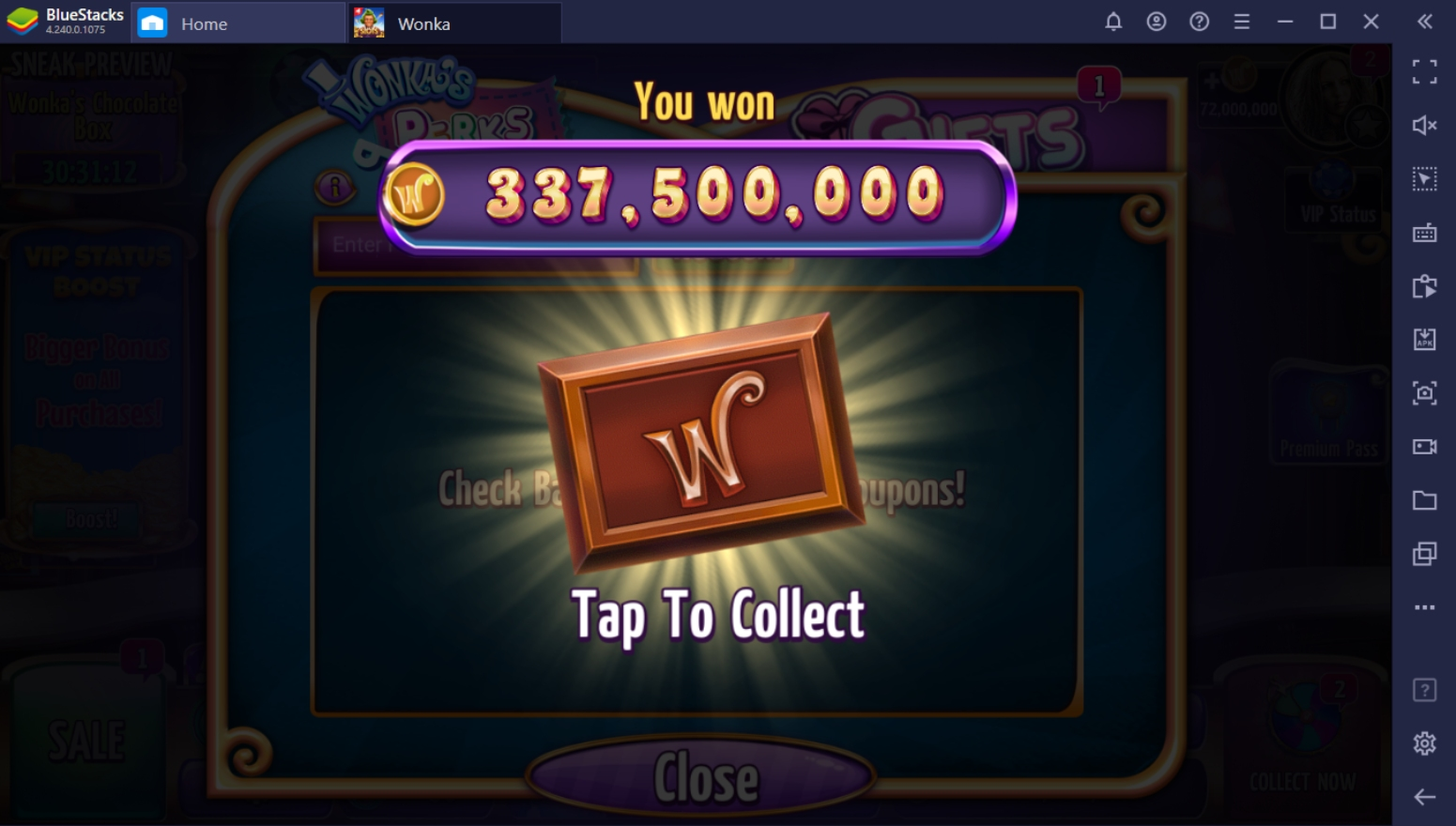 How To Get Free Credits In Willy Wonka Casino on PC
