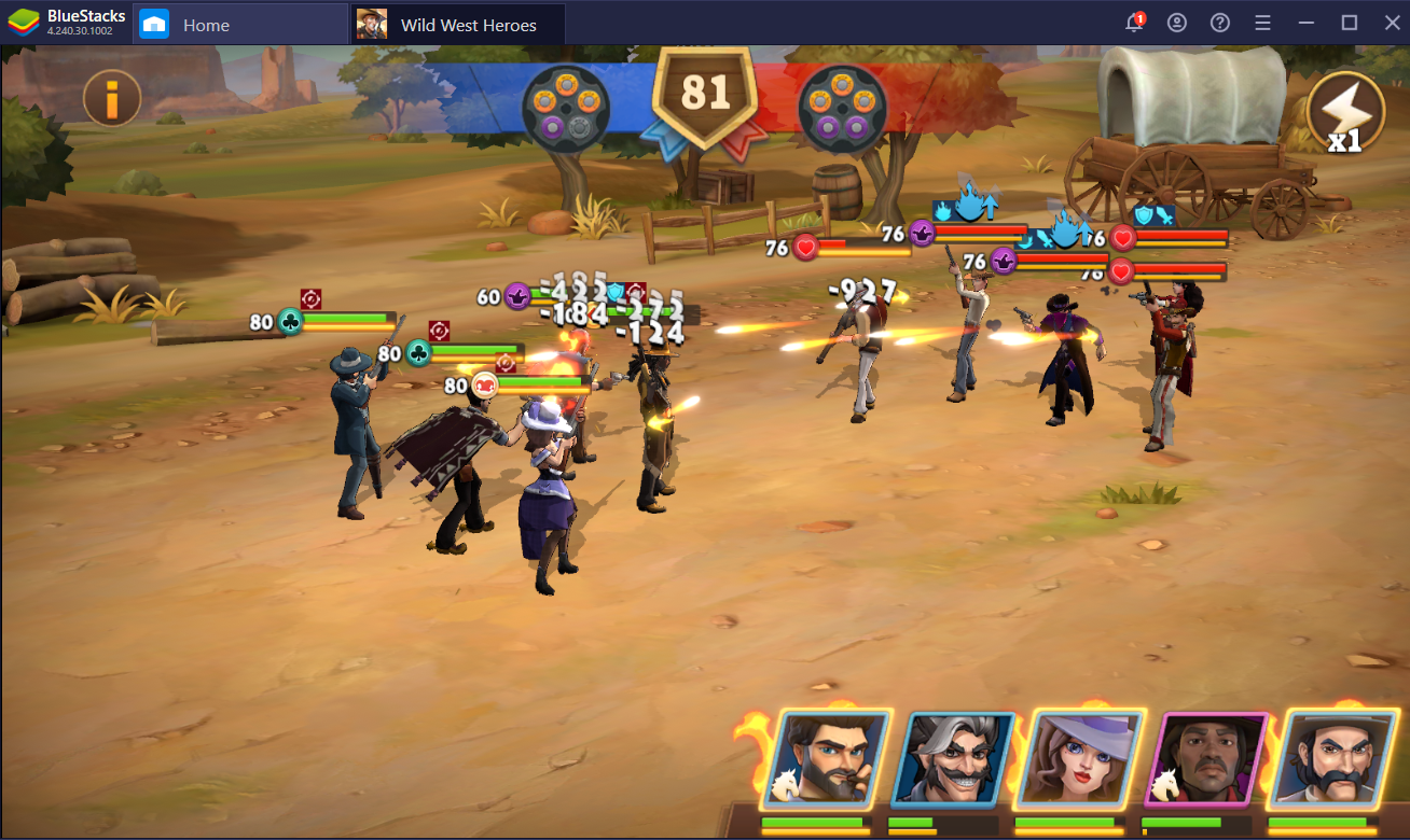Tips on How to Win Gunfights in Wild West Heroes