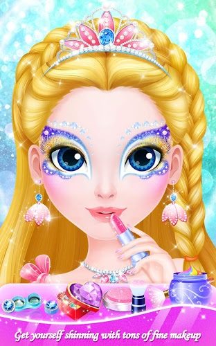 Chơi Makeup Salon: Princess Party on pc 8