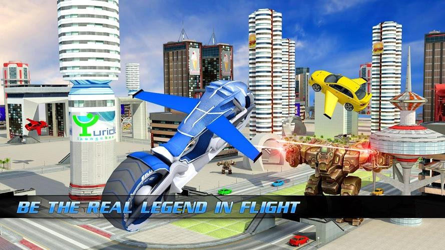 Download Flying Bike – Transformer Robot on PC with BlueStacks