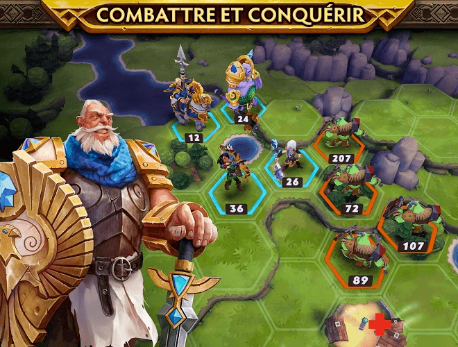 Jouez à  Warlords of Aternum sur PC 11
