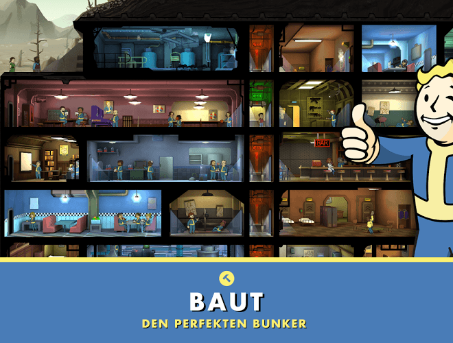 Spielen Fallout Shelter on pc 11