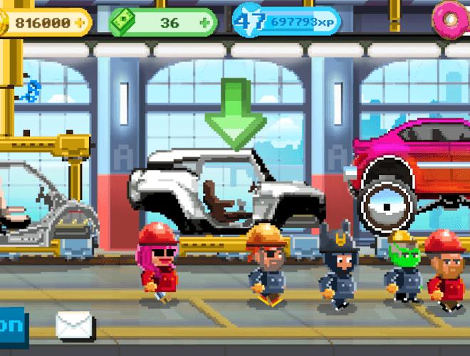 Играй Motor World Car Factory На ПК 8