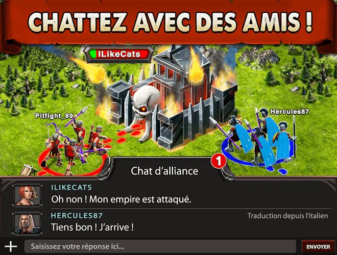 Jouez à  Game of War sur PC 16