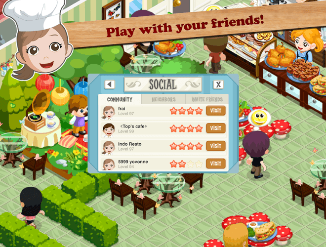 Play Restaurant Story: Food Lab on PC 5