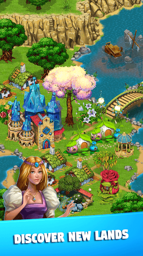 เล่น Fairy Kingdom: World of Magic on PC 4