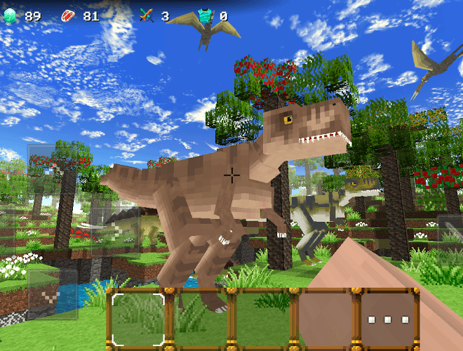 Play Jurassic Craft on pc 1