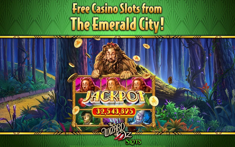 Play Wizard of Oz Free Slots Casino on PC 12