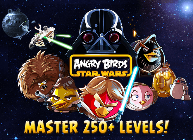 Play Angry Birds Star Wars on PC 2
