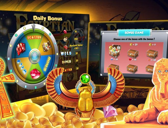 Play Egyptian Slots on pc 12