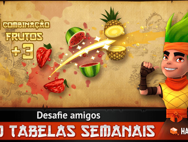 Jogue Fruit Ninja Free para PC 12