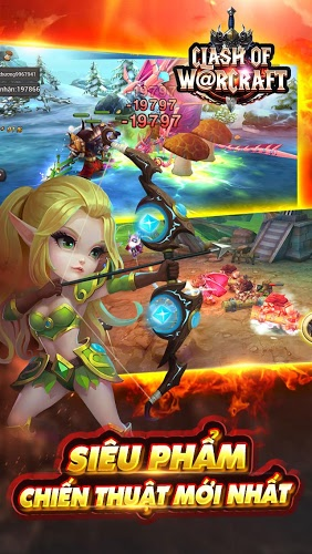 Chơi Clash Of Warcraft on PC 9