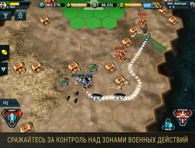 Играй War Commander: Rogue Assault На ПК 7