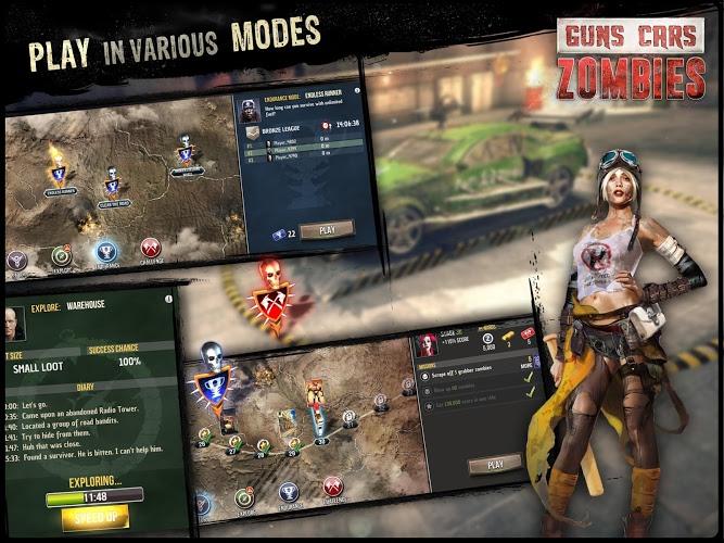 Играй Guns, Cars, Zombies На ПК 17