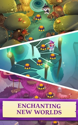 Chơi Bubble Witch 3 Saga on PC 18
