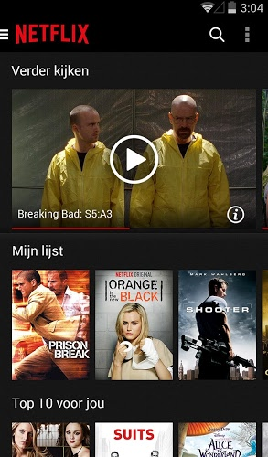 Speel Netflix on pc 2