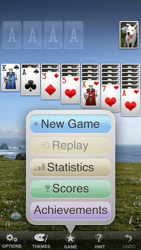 Spustit Solitaire on PC 4