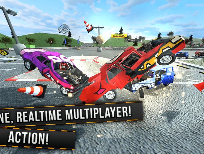 Play Demolition Derby Multiplayer on PC 4