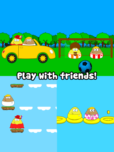 Main Pou on PC 12
