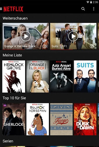 Spielen Netflix on PC 12