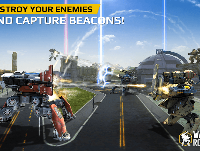 Play Walking War Robots on PC 10