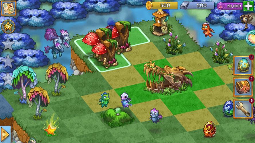Играй Merge Dragons! На ПК 13