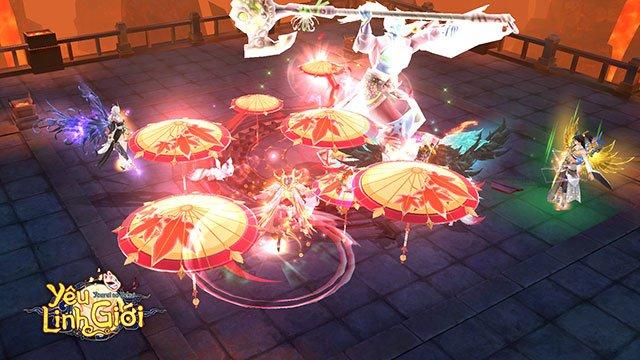 Yêu Linh Giới: game nhập vai chủ đề Yêu Linh Nhật Bản sắp ra mắt