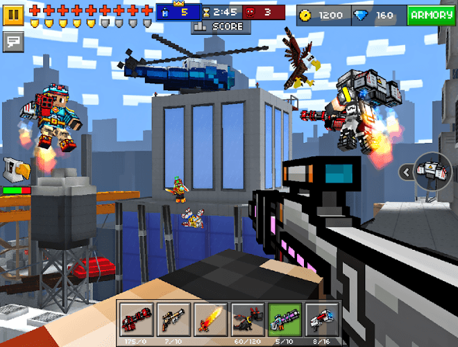 Play Pixel Gun 3D on PC 11