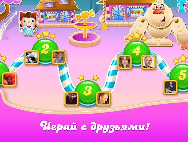 Играй Candy Crush Soda Saga on pc 18