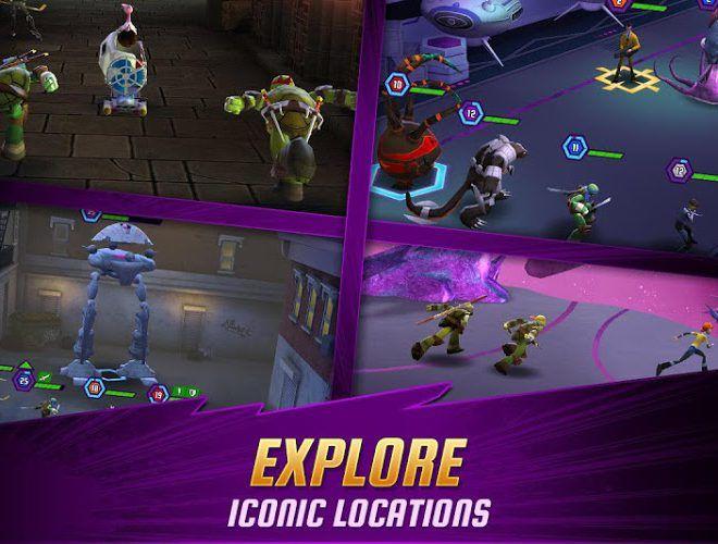 Chơi Ninja Turtles: Legends on PC 11