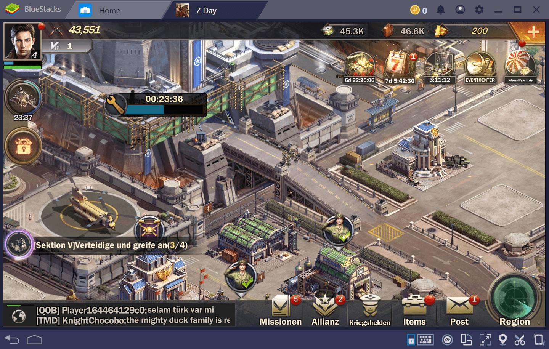 Z Day: Hearts of Heroes – Wie man auf BlueStacks spielt