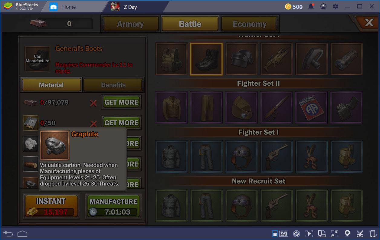 Z Day: Hearts of Heroes – Guide zum Erhalten und Herstellen von Ausrüstung