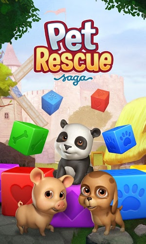 Speel Pet Rescue Saga on pc 5