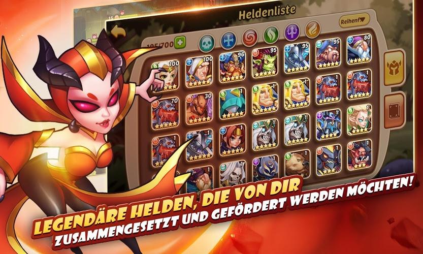 Spiele Idle Heroes auf PC 4