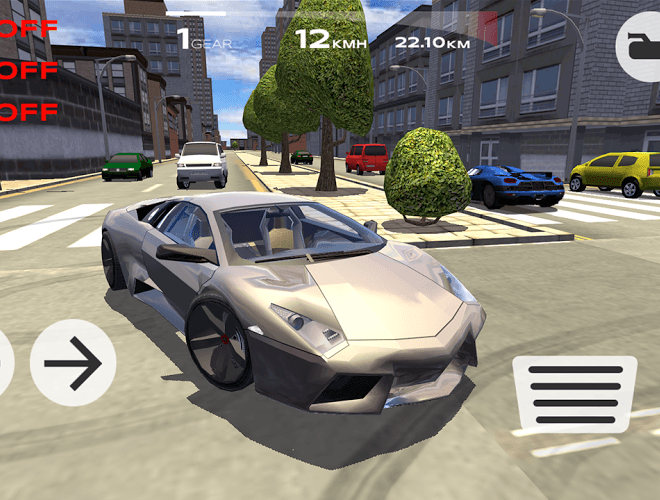 เล่น Extreme Car Driving Simulator on pc 7