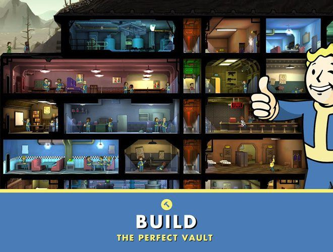 เล่น Fallout Shelter on pc 11