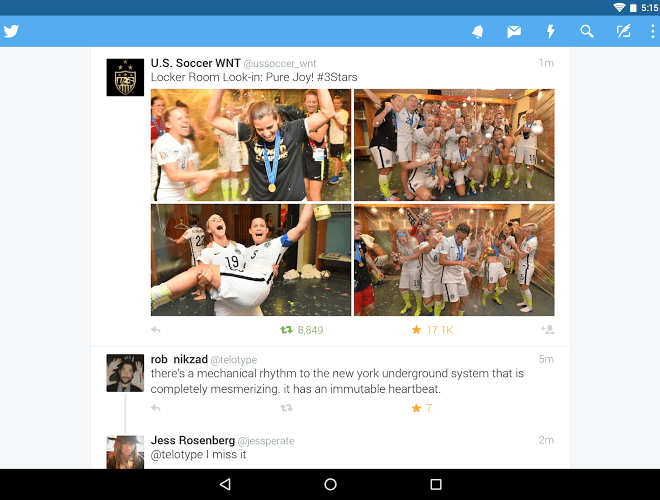 เล่น Twitter Android App on PC 8
