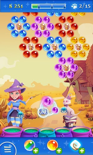 เล่น Bubble Witch Saga 2 on pc 8