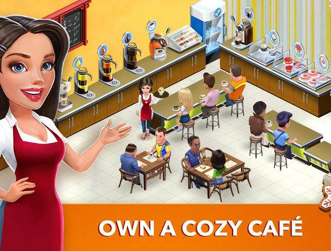 Play My Cafe Recipes & Stories on PC 8