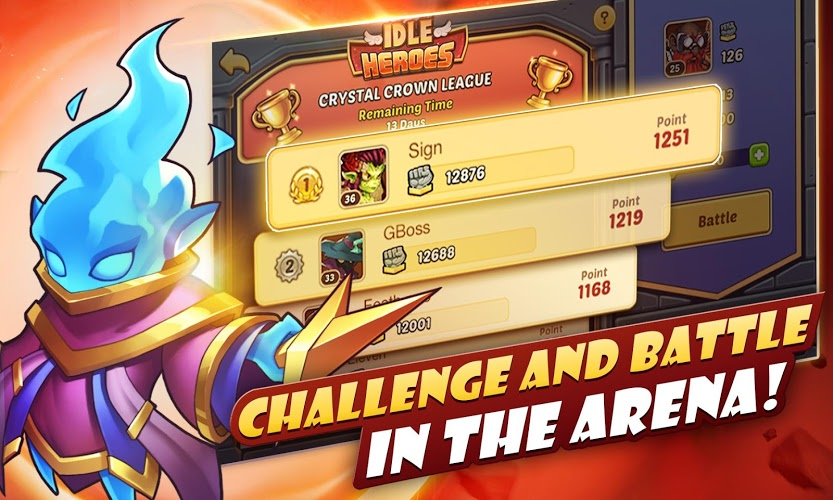 Play Idle Heroes on PC 14