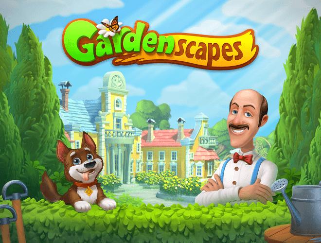 Jouez à  Gardenscapes sur PC 14