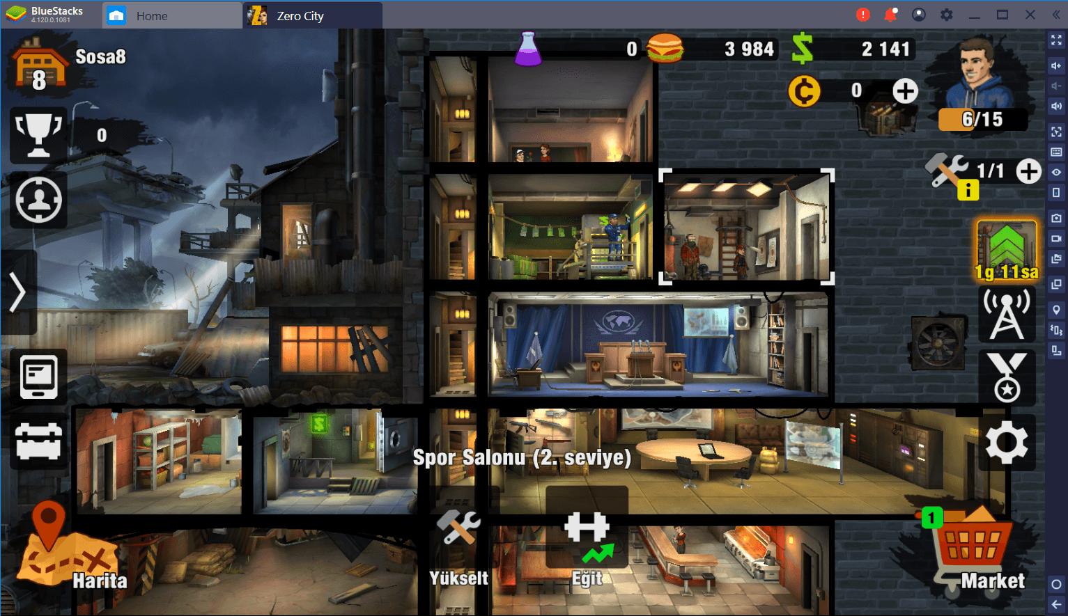 Zero City'deki Zombi İstilasını BlueStacks ile Savuşturun
