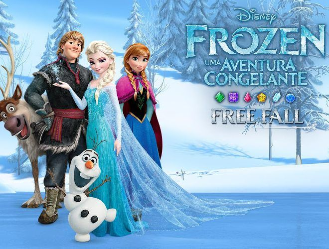 Jogue Frozen Free Fall para PC 12