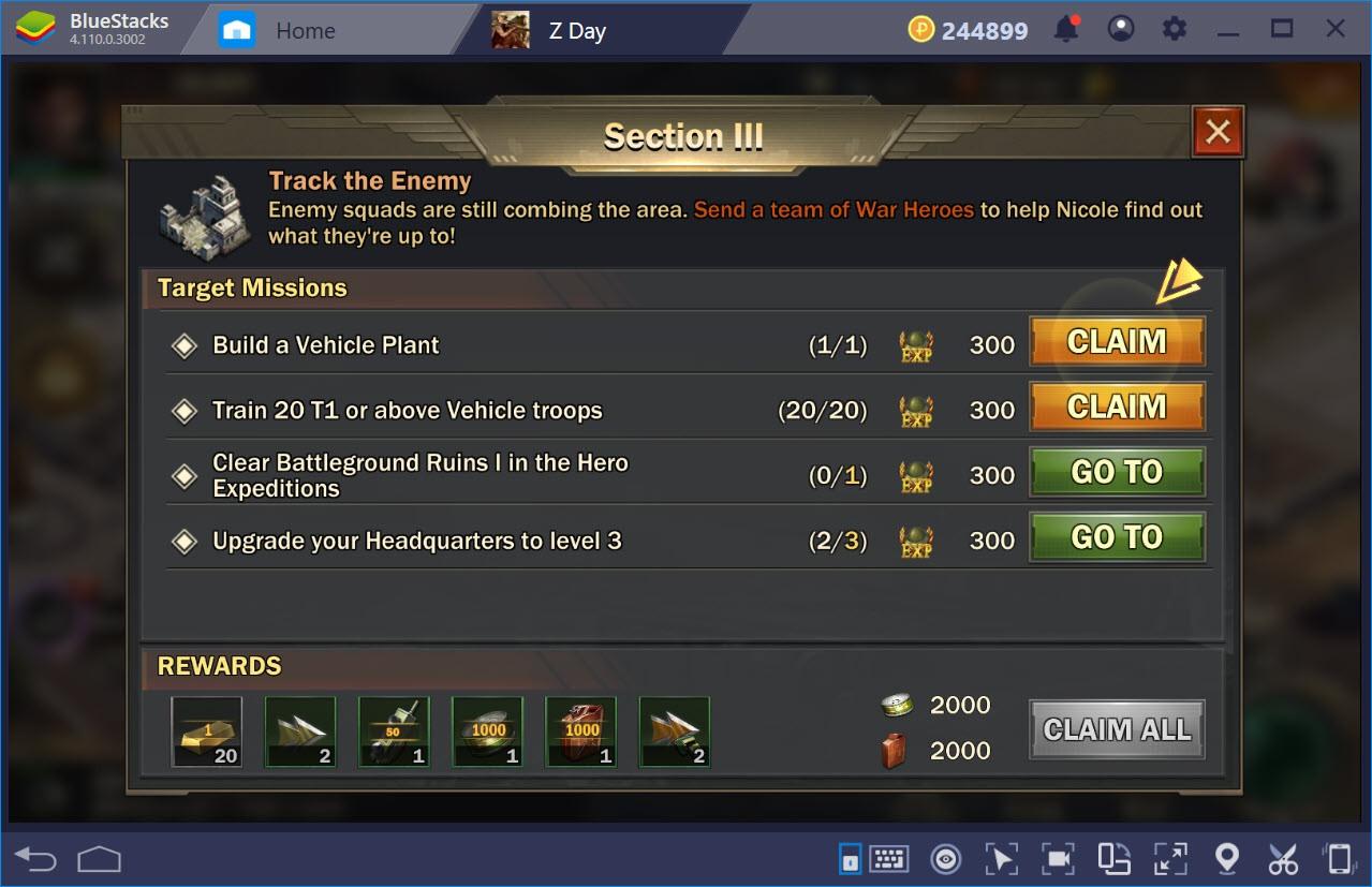 Lưu ý khi chơi Z Day: Hearts of Heroes cho người mới