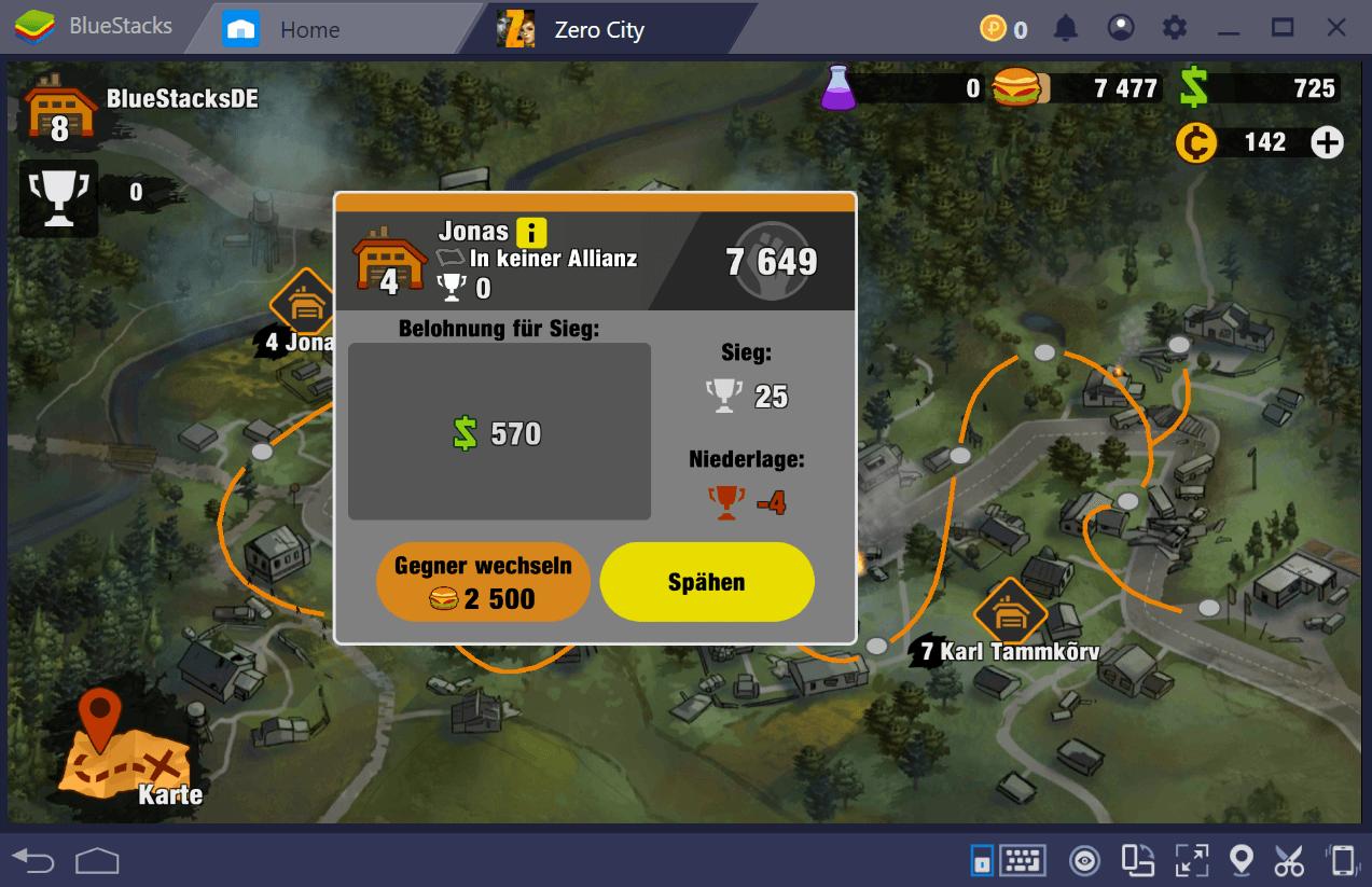 Wie man in Zero City Geld verdient