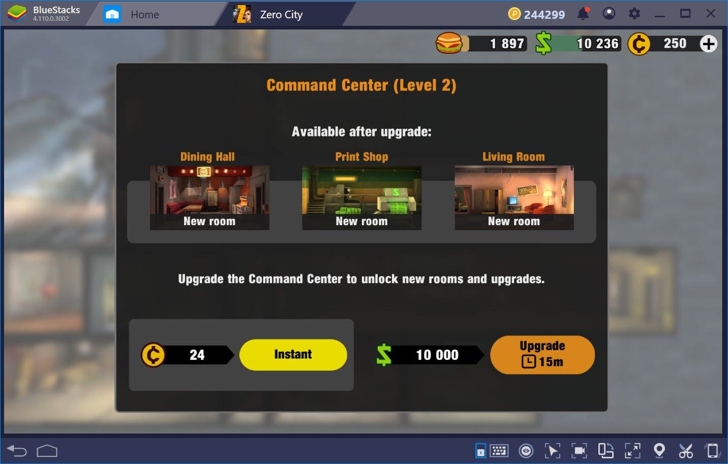Làm thế nào để tăng dân số trong Zero City