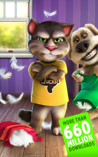 Play Talking Tom Cat 2 on PC 12