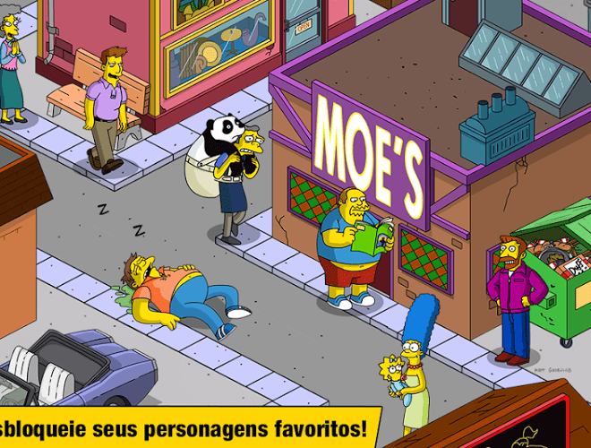 Jogue Simpsons Tapped Out on pc 8
